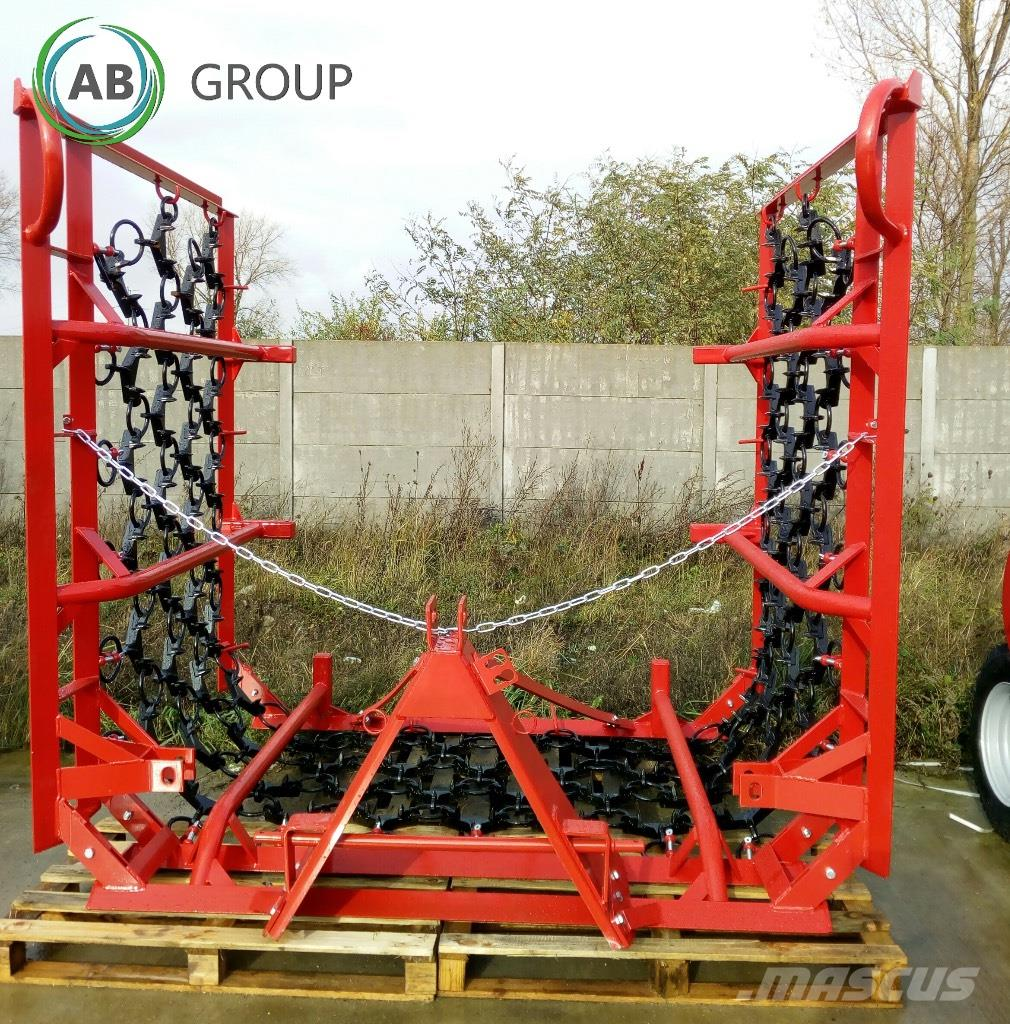 Agro-Factory Meadow drag harrow 6m/ Волокуша 6 м/Wiesenegge 6/4