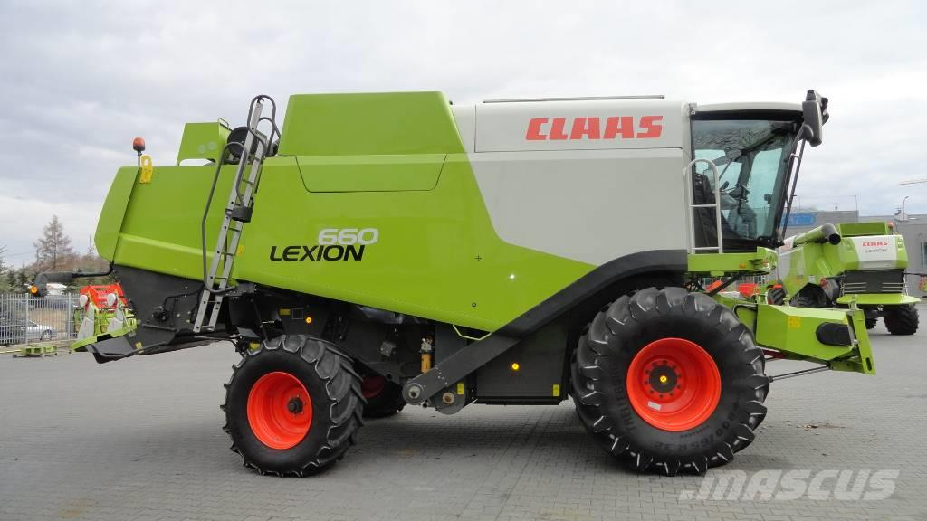 CLAAS Lexion 660 header V660