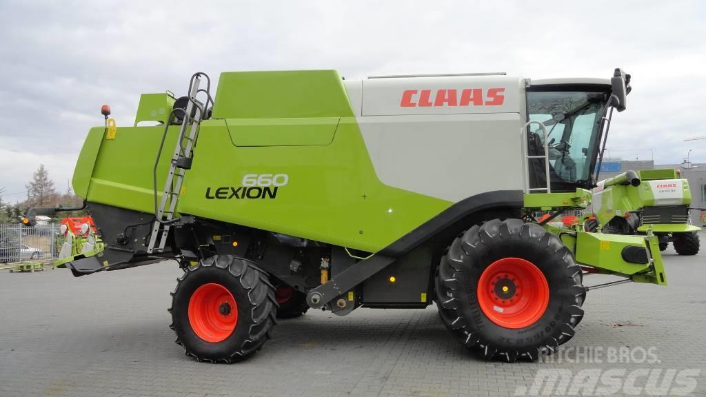 CLAAS Lexion 660 header V660