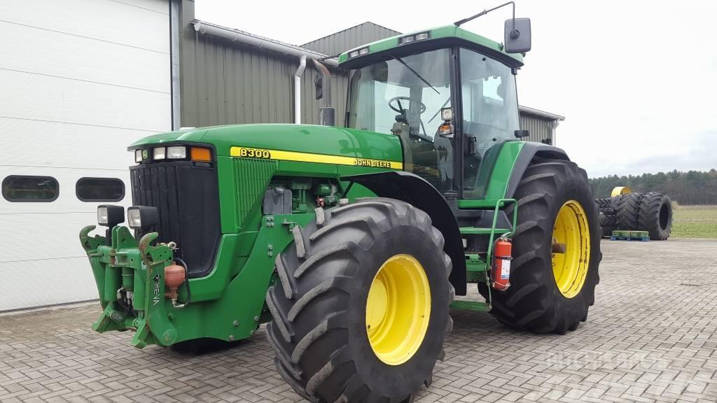 john deere 8300 traktor tahun pembuatan: 1998 - mascus