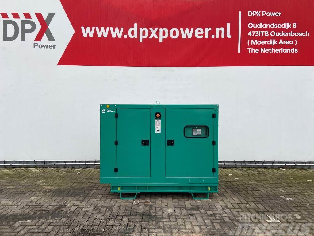 Cummins C55D5e - 55 kVA Generator - DPX-18506