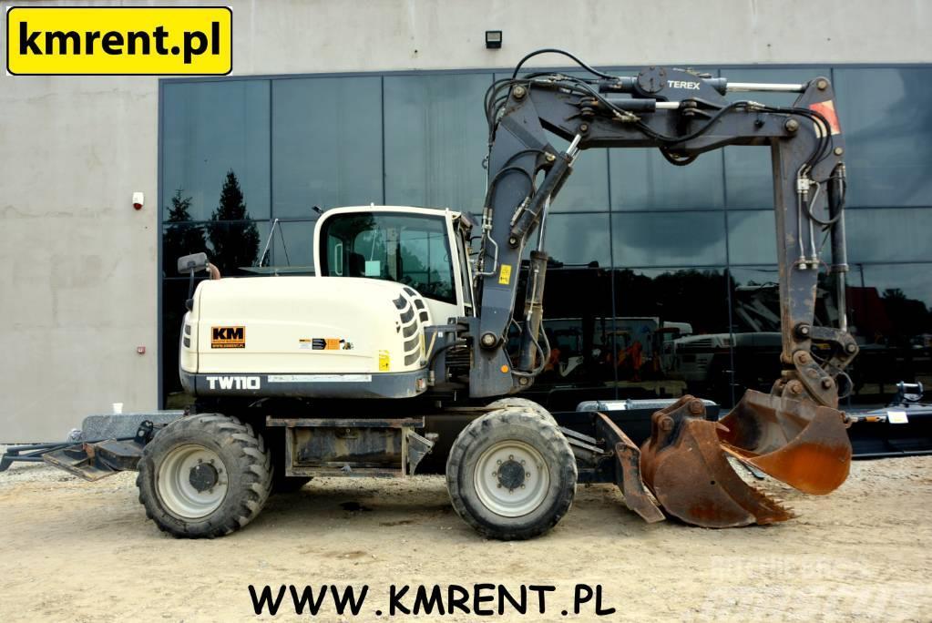 Terex TW 110 42 HML CAT 312 JCB JS 130 145 LIEBHERR A311