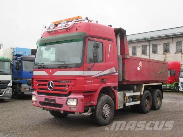 Mercedes-Benz ACTROS 3350K 6X4 FULL STEEL