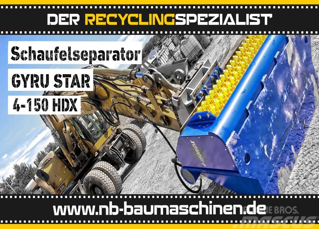 [Other] GYRUStar 4-150HDX HARDOX Schaufelseperator