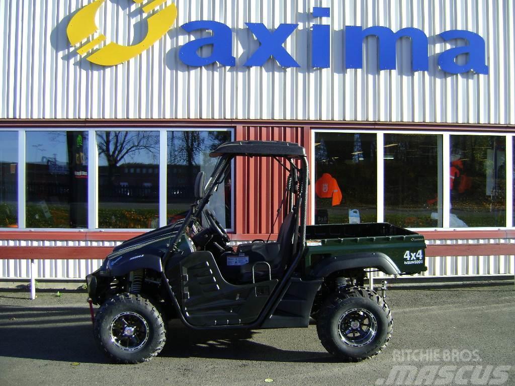 Hisun Utv hs 500 Traktor reg