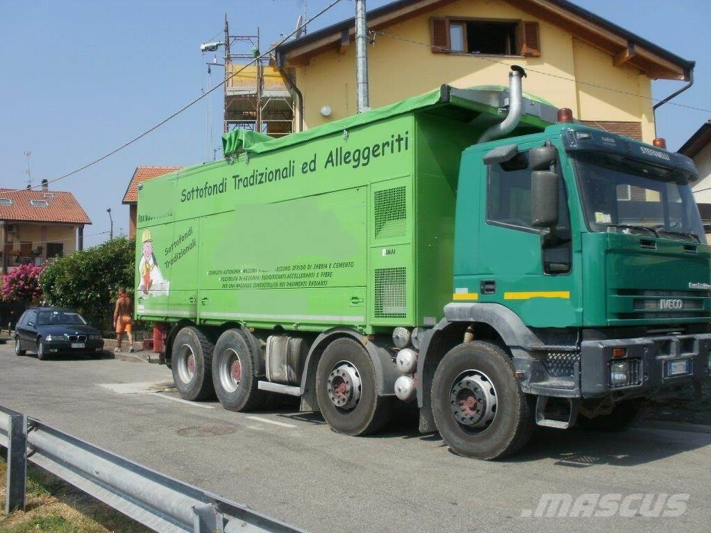 Used massetto sabbia cemento su 4 assi other semi trailers - Massetto tradizionale ...