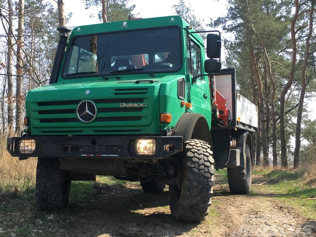 Mercedes-Benz Unimog U4000 + Palfinger PK6500A Crane 4x4