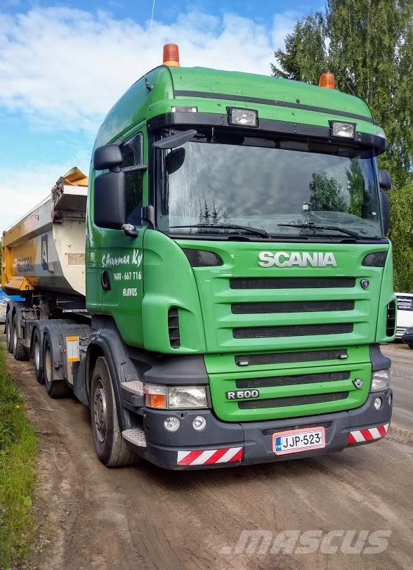 Scania R500 6x4  Kippi hydr.