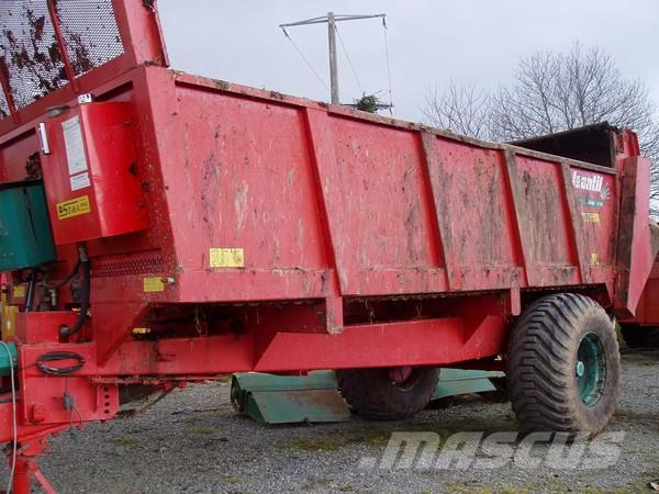 Jeantil EP 2100, 2003, Manure spreaders