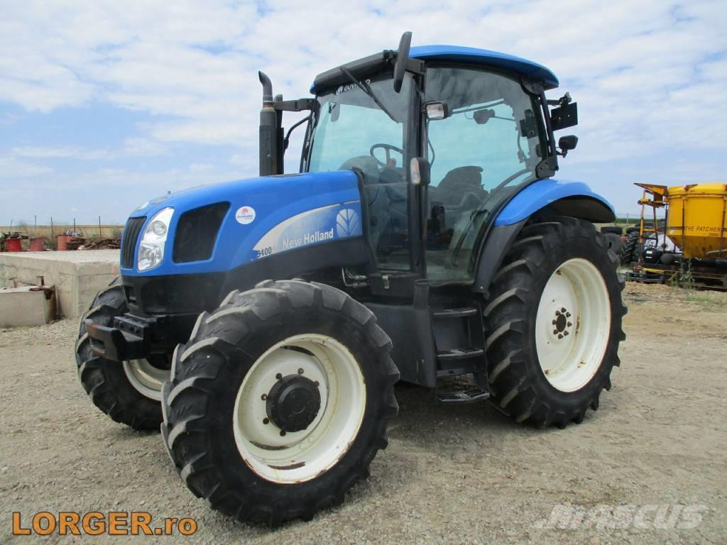 New holland ts 100 Specifications manual de tractores