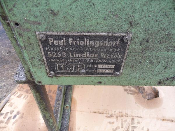 Paul Frielingsdorf Maschinen und Apparatebau Rundt, Övriga