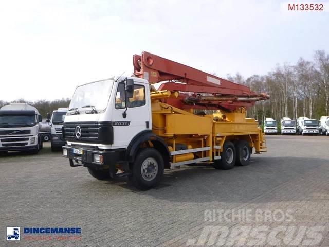 Mercedes-Benz SK 2631 6x4 Putzmeister BRF 33.09EM concrete pump