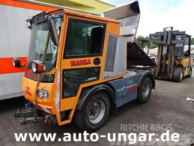 Hansa APZ 1003 KS 4x4 Kommunalfahrzeug Motorschaden