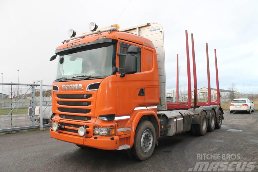 Scania R730 LB 8X4*4