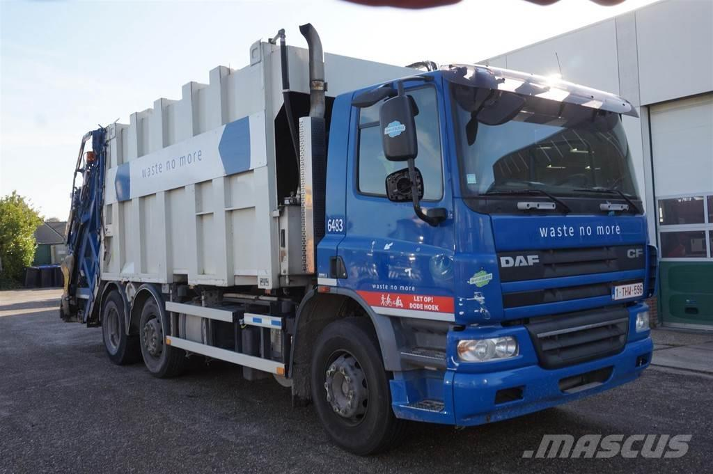 DAF CF75.250 6X2 / Vuilniswagen / MOL opbouw