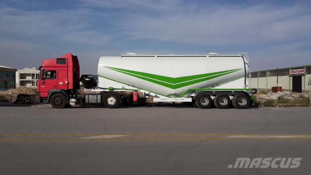 Lider cement transport tankers