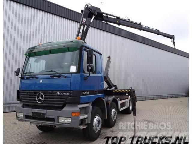 Mercedes-Benz 3235 Hiab 16TM kraan, Crane, Kran - 21t. Haakarm,