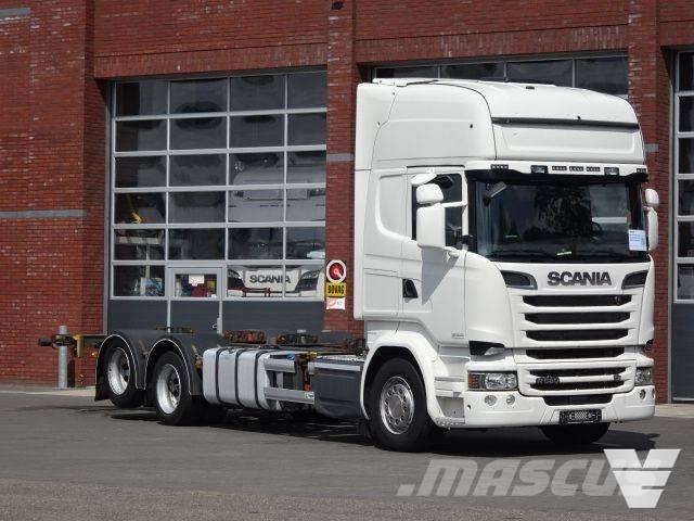Scania R580 6x2 Topline BDF - Double Boogie - Full air -