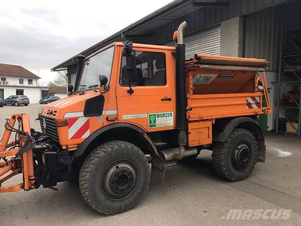 Used mercedes benz unimog u 1600 work trucks municipal for Mercedes benz unimog for sale usa