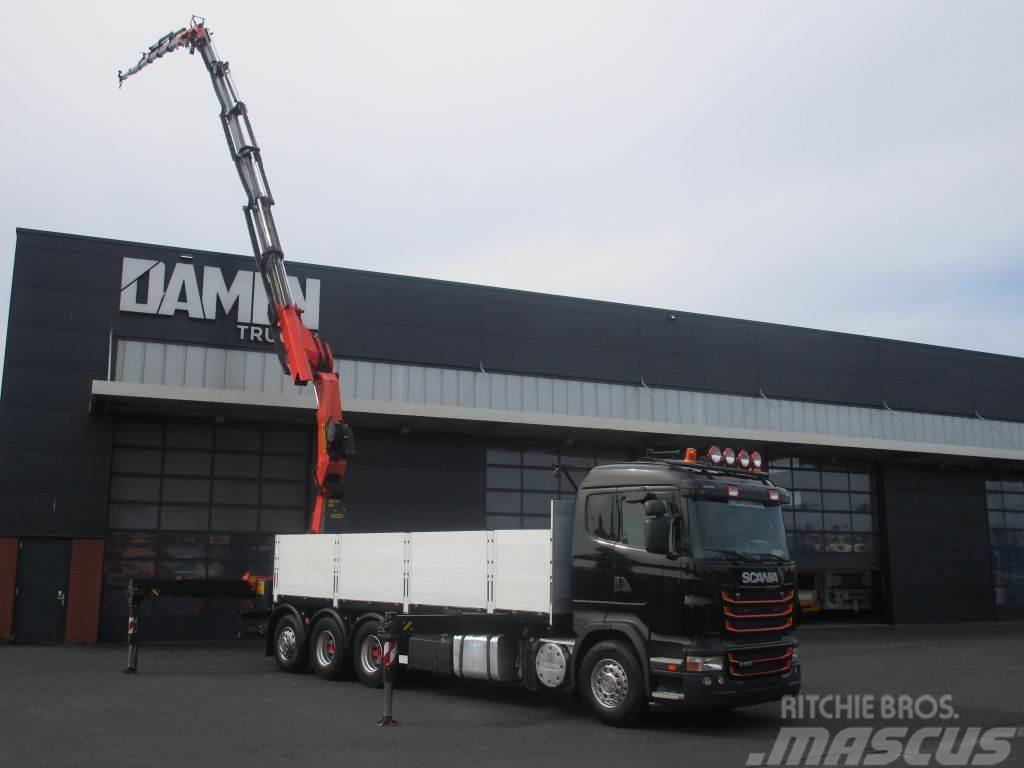 Scania R 500 V8 8x4 Tridem Euro 5