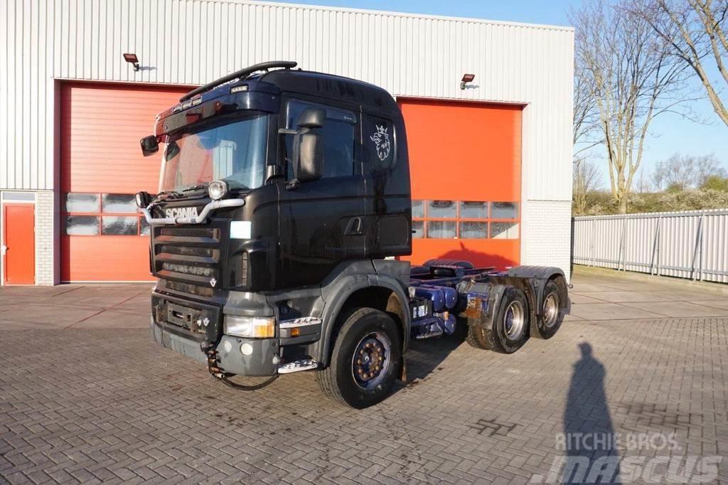 Scania R560 / 6X4 / FULL-STEEL / AUTOMATIC / RETARDER / 2