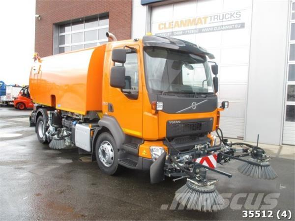 Volvo FL 250 Euro 6 NEW! with 3-rd and 4-th brushes