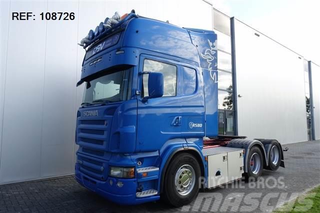 Scania R580 V8 6X2 ANALOGE TACHO RETARDER  EURO 3