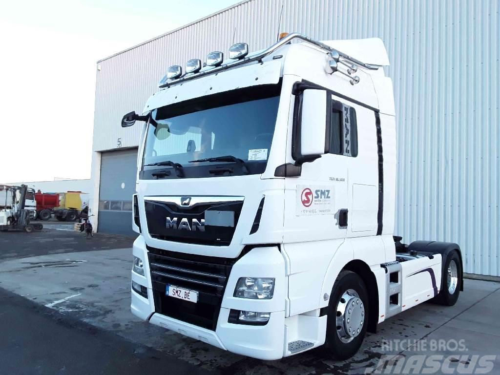 MAN TGX 18.500 XlX zf intarder/hydraulic. Full option