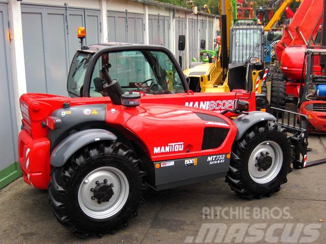 Manitou MT 732 Serie B ** 4x4x4 / 7 m / 3.2 t. **