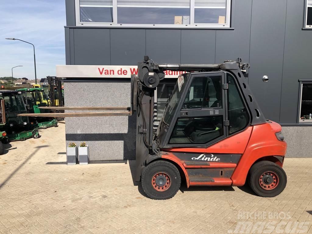 Linde heftruck LINDE H60-01 triplex470 freelift 2010 DEU