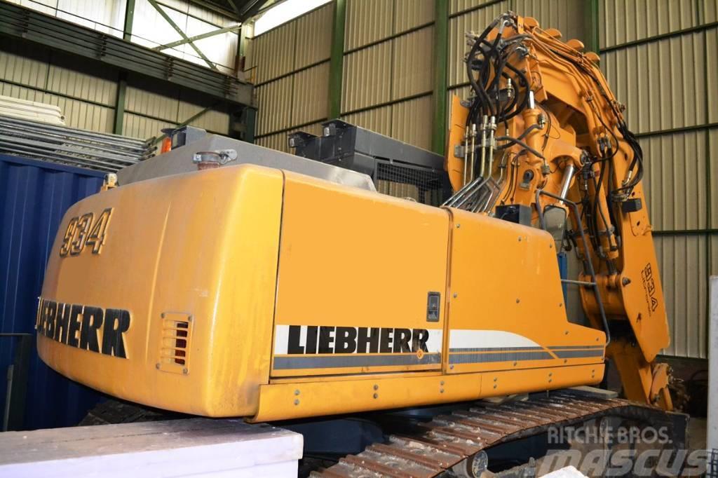 Liebherr R 934 B T tunnel