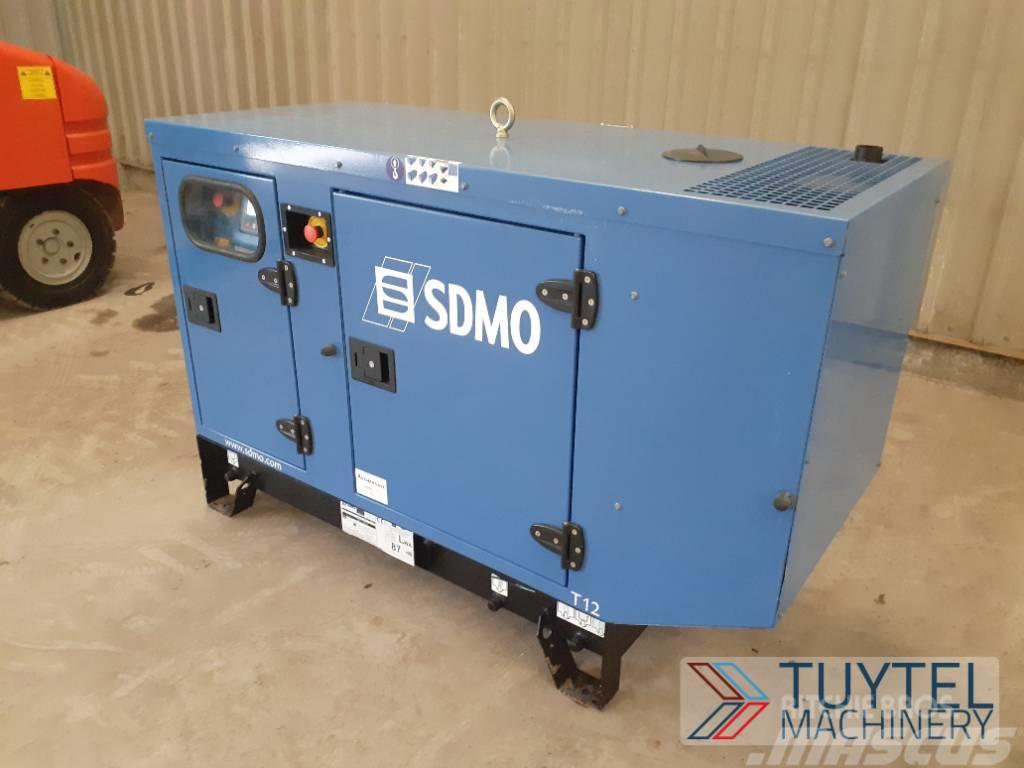 Kohler SDMO T12K generator aggregaat, 9,2 KW, 3phase, 11,