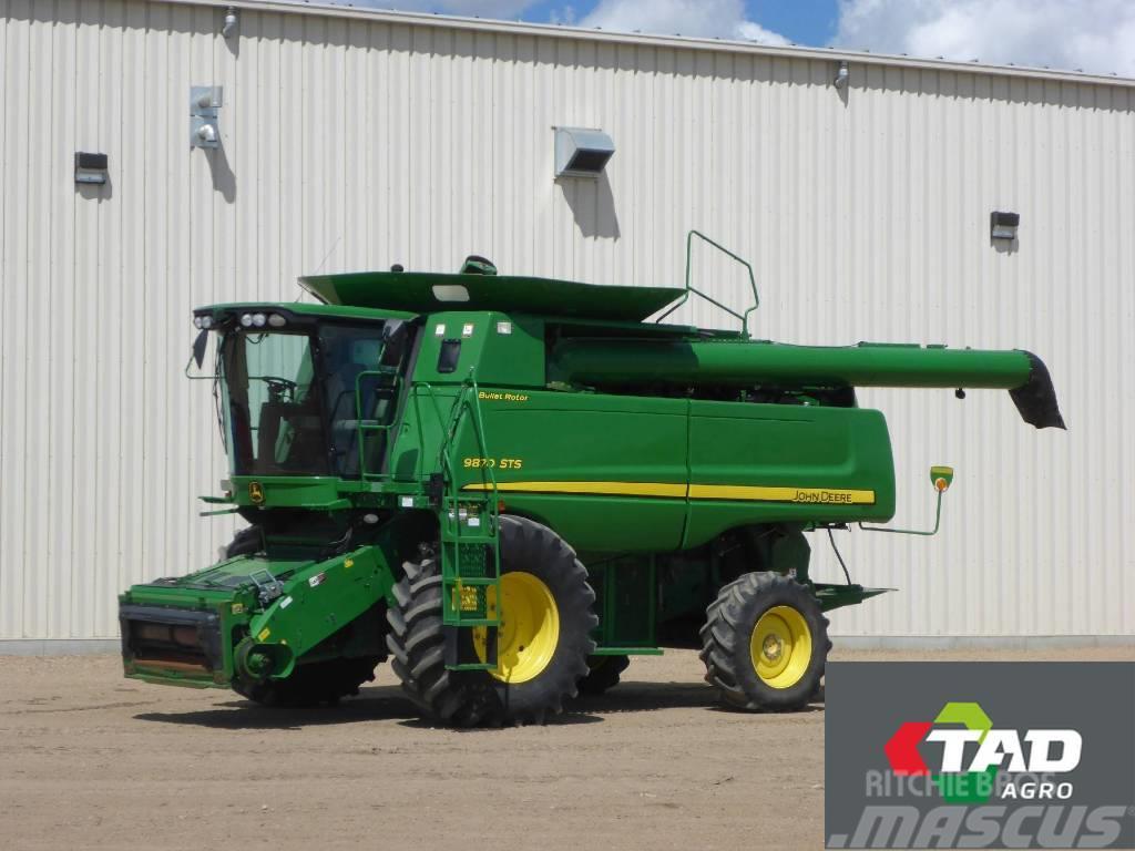 John Deere 9870 STS, Combine harvesters ...