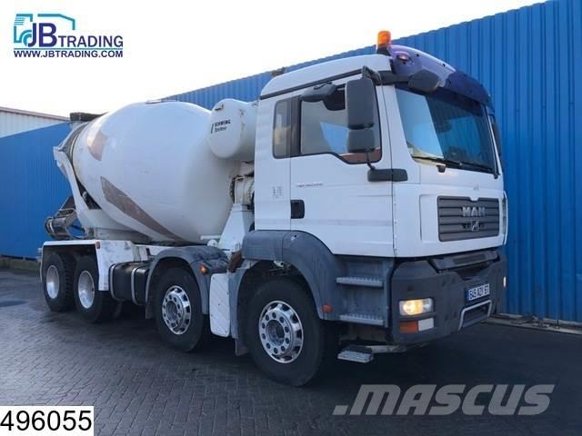 MAN TGA 32 360 8x4, Stetter, Beton / Concrete mixer, M