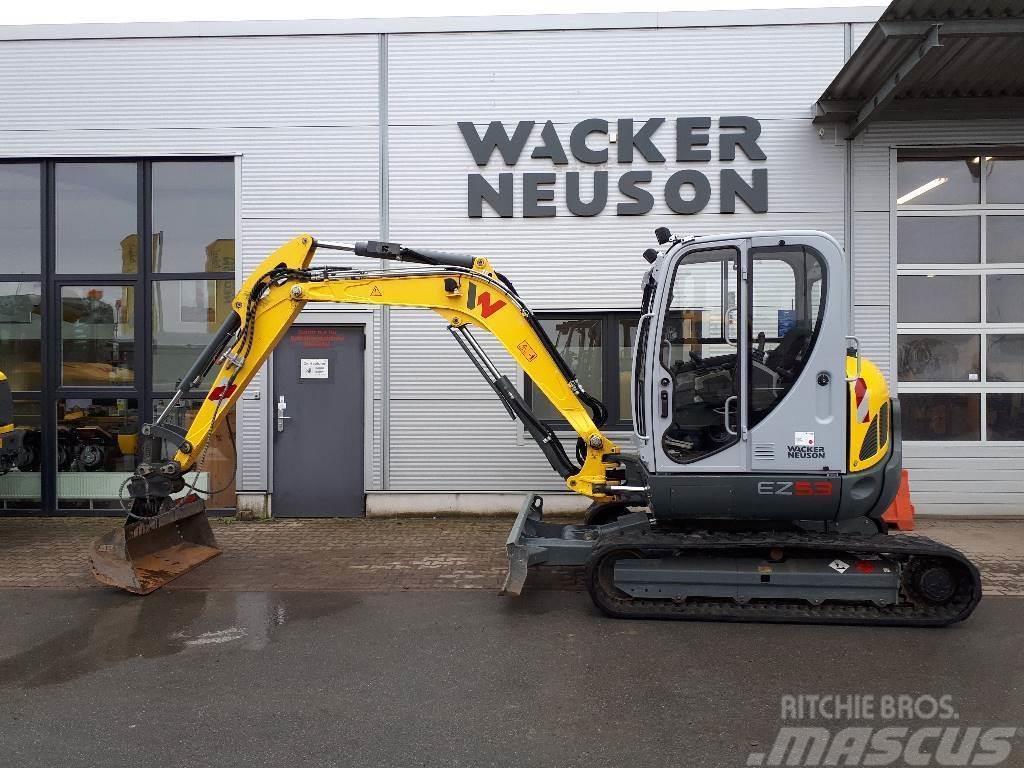Wacker Neuson Raupenbagger EZ53 - Kurzheck