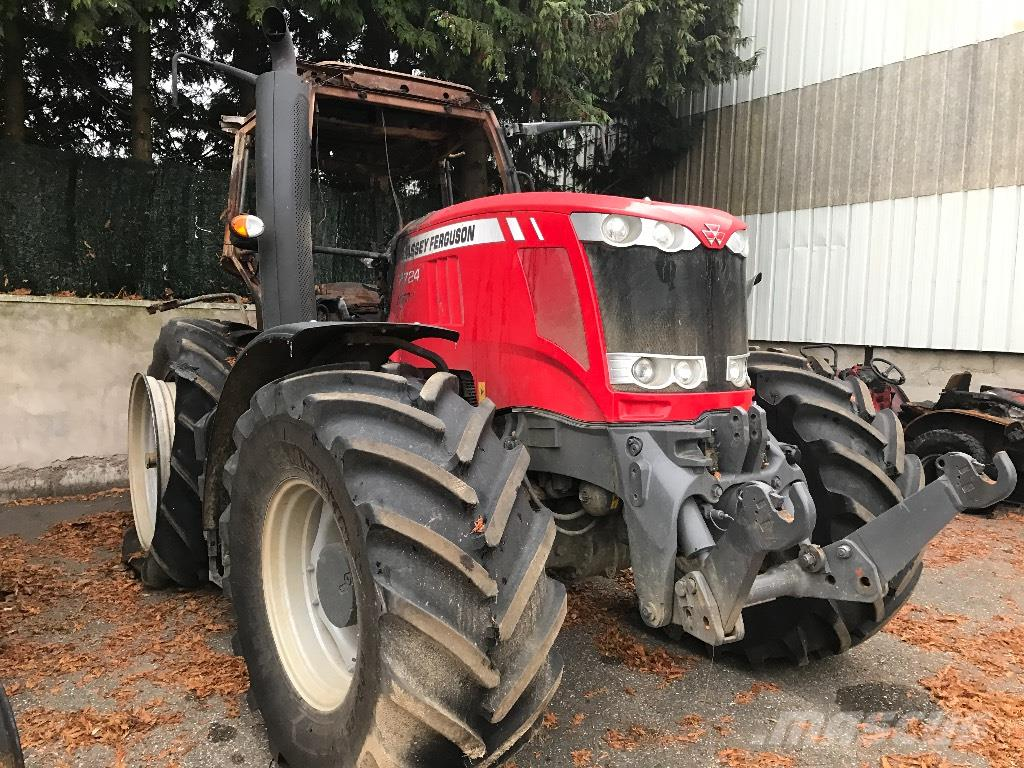 Massey Ferguson MF 7724 DYNASTAR *ACCIDENTE*DAMAGED*UNFALL*