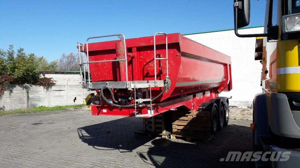 Langendorf STEEL TIPPER SEMI TRAILER SKS-HS24/28 26 m3