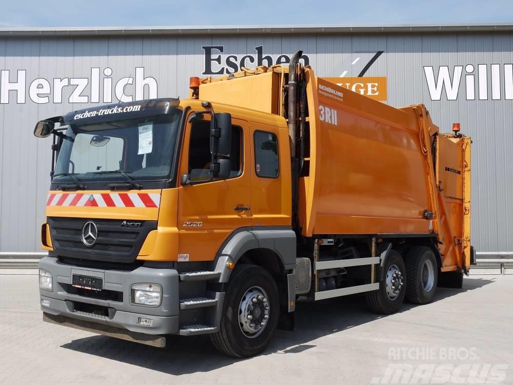 Mercedes-Benz 2528 L / 6x2, Obj.-Nr.: 0818/17