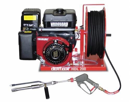 Oertzen Stingatorul de incendiu mobil HDL 200