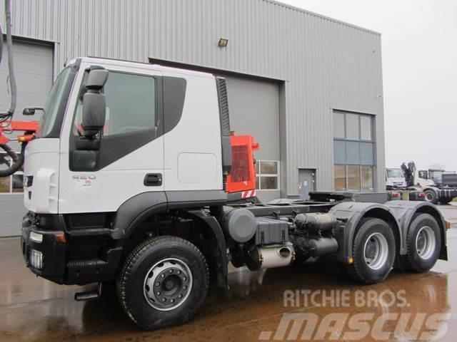 Iveco Trakker 420 6x4 Tractor Head