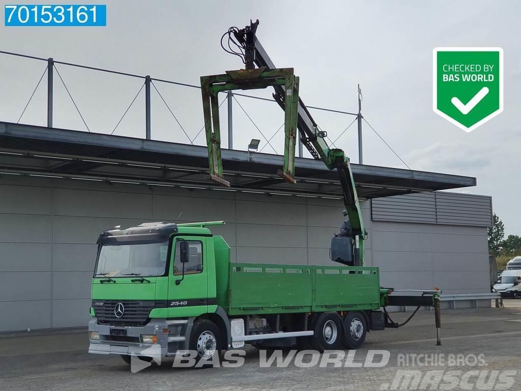 Mercedes-Benz Actros 2540 6X2 Manual Big-Axle Liftachse Euro 2 P