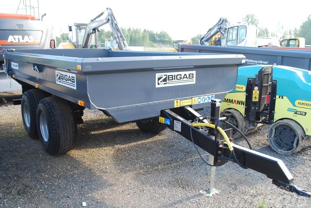 Bigab T8 vagn för hjulgrävare