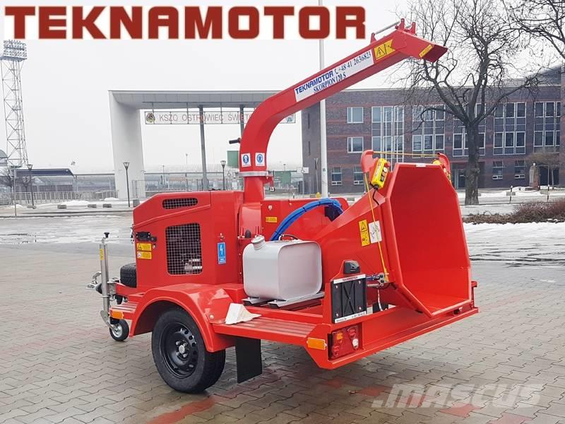 Teknamotor Skorpion 120S chipper