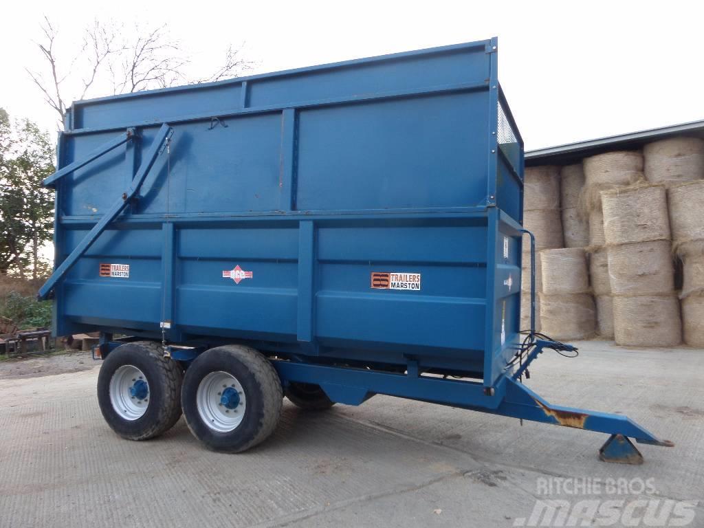 Marston 10 tonne tipping trailer