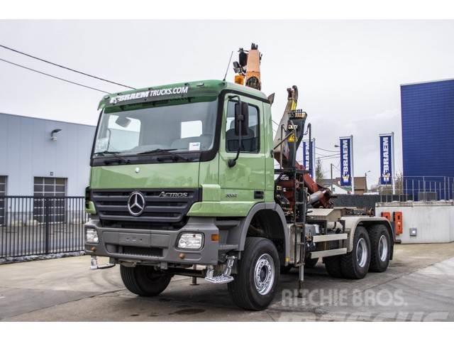 Mercedes-Benz ACTROS 3332 mp2+ PALFINGER 12 ton/m