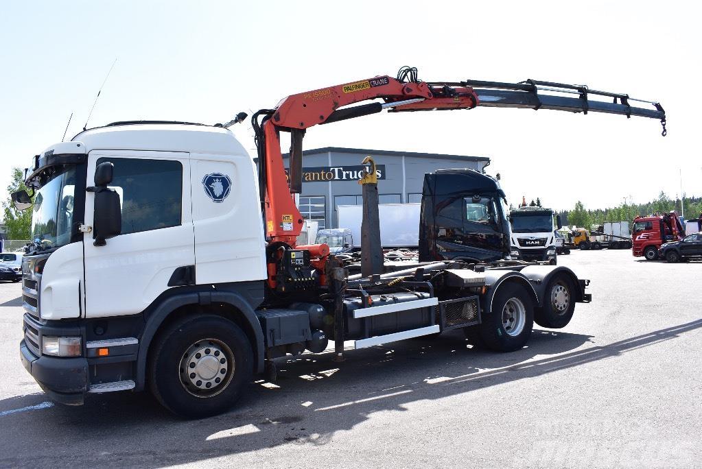 Scania P420 6x2