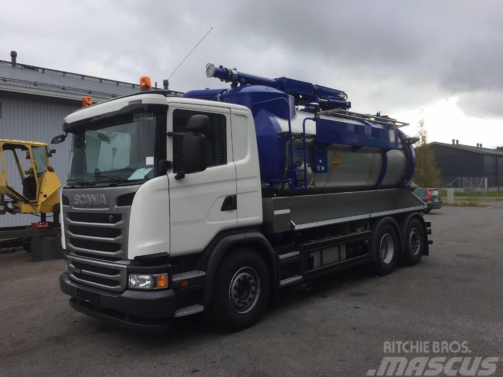 [Other] Amphitec 9000 m3 suurtehoimuri Scania G360 LB6x2*4