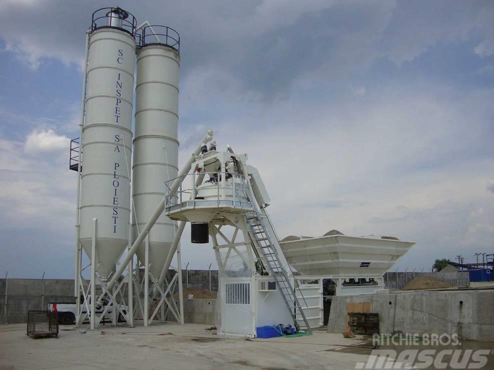 Frumecar EMA - mobiele betoncentrale 30 - 100 m³/uur