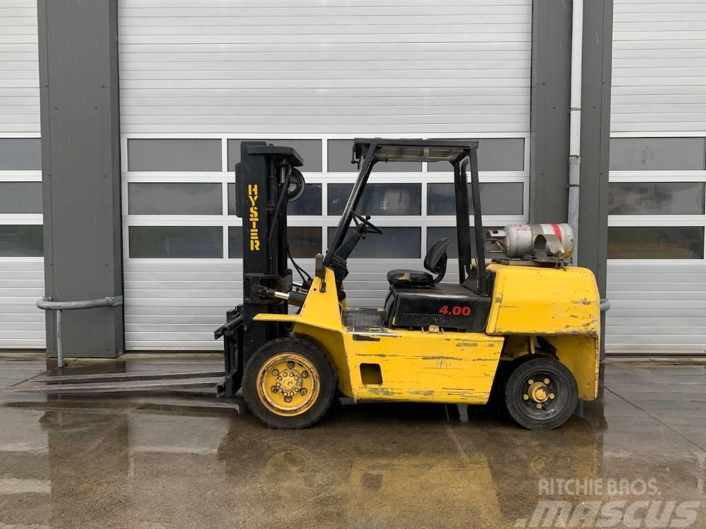 Hyster 4 ton LPG heftruck Hyster H4.00XLS