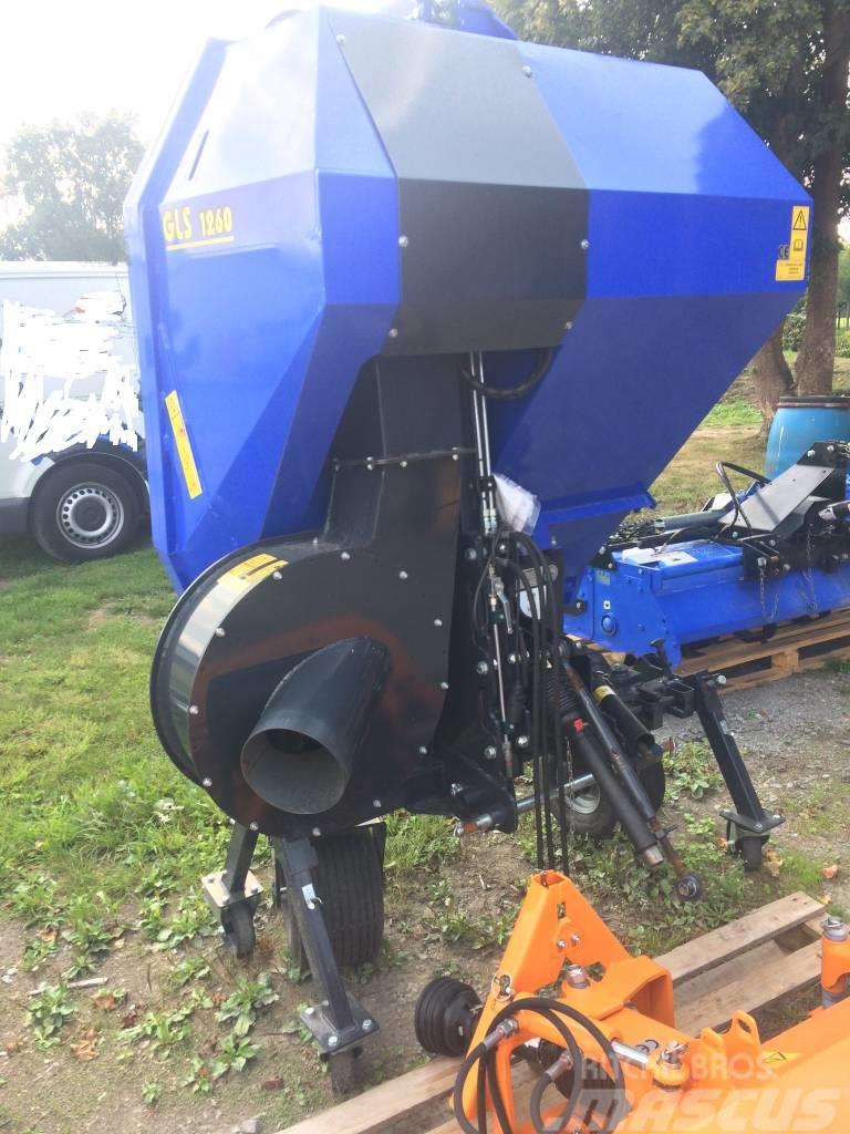 Iseki GLS 1260 H * Gras- und Laubsauger * Turbine * Bj.